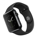 Apple Watch 42mm Black Stainless Steel