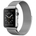 Apple Watch Stainless Steel Case With Milanese Loop 42mm